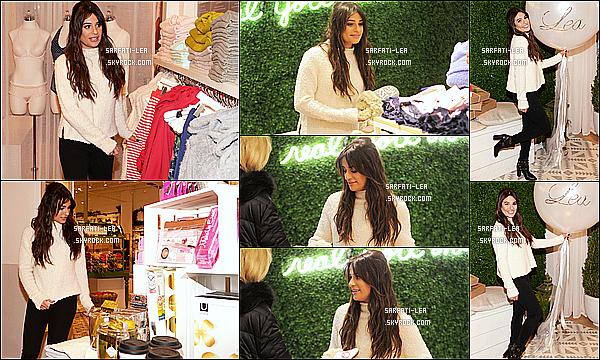 * 15/12/16 : Lea M. a était de nouveau présente lors de l'ouverture du magasin « Aerie Pop-Up », dans New York. Plus tard, Lea a été vue quittant le magasin Aerie Pop-Up à New York. Lea était toute belle. Une fois de plus j'aime bien sa tenue. Un Top pour moi  *