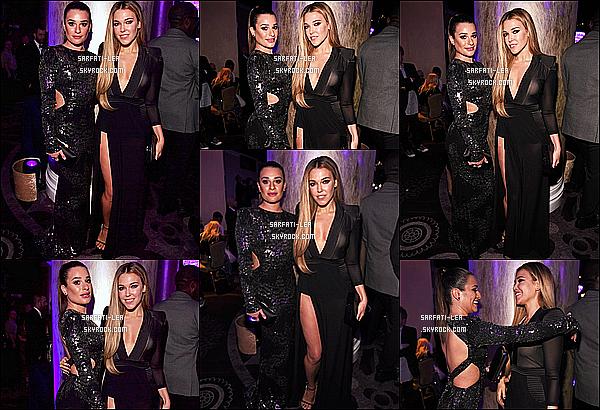 * 11/02/17 : Lea a assisté lors de l'événement « Clive Davis' Pre-Grammy Gala » - se situant dans Beverly Hills. Lea a posé aux côtés de Rachel Platten. Je suis fan de sa coiffure et de son maquillage. J'aime beaucoup aussi la robe noire qu'elle porte. Donc Top.  *