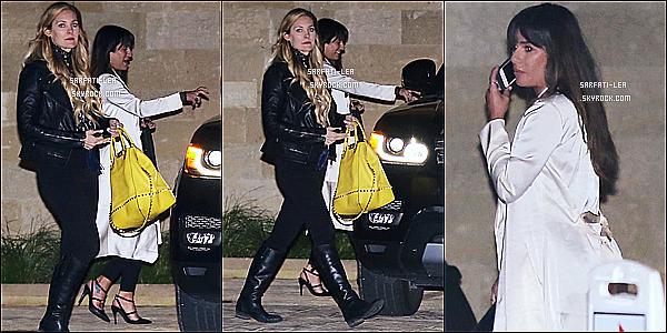 * 27/02/17 : Lea Michele a été repérée alors qu'elle quittait le « Soho House » avec une amie - à West Hollywood. Dommage qu'il y ait seulement trois photos et qu'elles ne soient pas de bonne qualité. La tenue de Lea à l'air vraiment sympa, c'est un Top pour moi  *