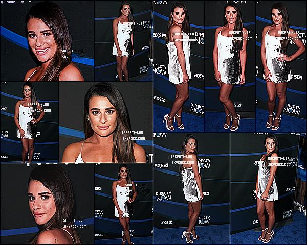 * 04/02/17 : Lea M. a assisté à l'événement « DIRECTV NOW Super Saturday Night Concert » dans Houston. Lea Michele était vraiment ravissante. Je suis fan de sa mise en beauté. La robe qu'elle porte est super jolie je trouve. C'est donc un Top pour moi !  *