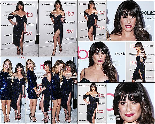 * 19/02/17 : Lea Michele était présente lors de la 3ème édition des - « Annual Hollywood Beauty Awards ». Lea est tout simplement splendide. Je suis complétement fan de sa coiffure et de son maquillage. Je trouve que sa robe est jolie aussi. Top pour moi  *