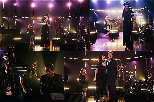 * 14/03/17 : Lea M. était présente, sur le plateau de l'émission - «  The Late Late Show with James Corden ». Lea s'est produite sur scène et a chanté le premier single de son nouvel album, Love Is Alive. J'aime bien la robe noire qu'elle porte - Top pour moi !  *