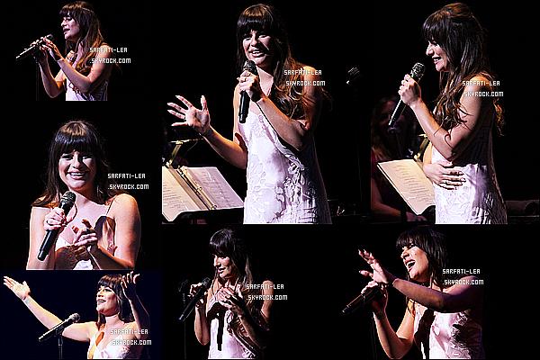 * 01/05/17 : Lea donnait son premier concert  pour son nouvel album au « Merriam Theater » - de Philadelphie. Lea va faire une tournée de concerts à la suite de son album Places. Après le concert elle a posé avec des fans lors d'un Meet & Greet. C'est un Top  *