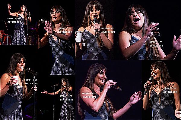 * 08/05/17 : Lea M. donnait un concert dans la salle - « Moore Theatre » - se situant dans Seattle à Washington. Lea a posé comme à son habitude avec ses fans. Elle est très jolie. La robe qu'elle porte est toute ravissante, elle lui va à merveille - Top pour moi.  *