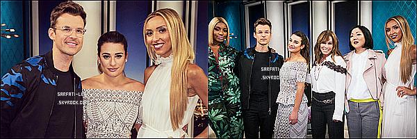 * 22/05/17 : Lea M. s'est rendue sur le plateau de l'émission « Fashion Police », qui se trouve dans Los Angeles. Seulement deux photos sont disponibles, ce qui est bien dommage - Lea était vraiment superbe. J'aime trop sa tenue - C'est donc un Top pour moi !  *