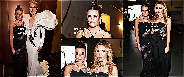 * 21/05/17 : Lea M. était présente à la cérémonie des « Billboard Music Awards » qui avait lieu dans Las Vegas. Lea a posé au côté d'Ashley Tisdale et a pu rencontrer son idole Céline Dion. Lea est sublime. Sa robe noire est jolie. J'aime bien sa mise en beauté.  *