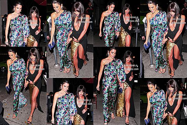 * 04/03/18 :    Lea M. a été repérée, lorsqu'elle quittait le restaurant « Craig's » avec Nikki Reed - dans West Hollywood. Après l'événement, Lea est donc allée dîner avec Nikki Reed. Lea est toute belle et souriante. Elle porte la même robe qu'à l'événement. Toujours un Top.  *
