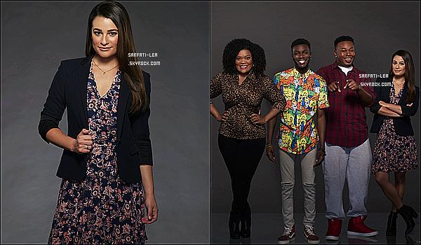 *  Voici deux photos promotionnelles de la saison 1 de la nouvelle série, « The Mayor » !  *