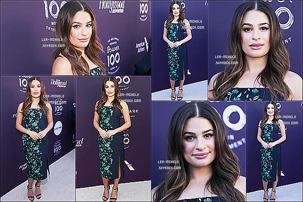 * 06/12/17 :    Lea a assisté au « The Hollywood Reporter's 2017 Women In Entertainment » - situé à Los Angeles. Lea est magnifique. Je suis complètement fan de la robe qu'elle porte, elle lui va vraiment bien je trouve. Sa mise en beauté est jolie aussi. Top pour moi.  *