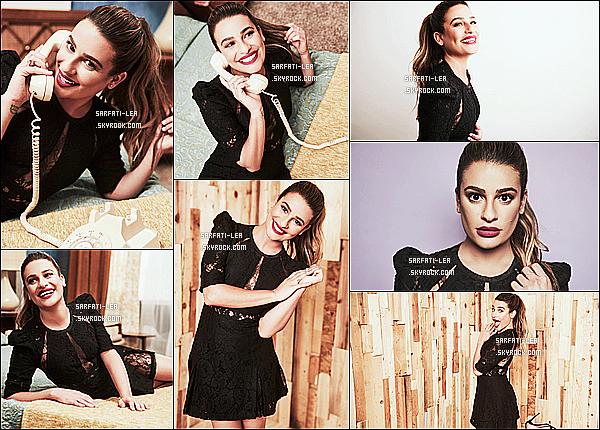 *  Découvrez un photoshoot de Lea Michele, pris lors du «Summer TCA Press Tour»  !   *