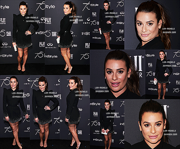 * 15/11/17 :    Lea a assisté à l'événement «  HFPA and InStyle celebrate Golden Globe Season » - dans Los Angeles. Lea est vraiment resplendissante. J'aime beaucoup  la tenue qu'elle porte. Je suis fan également de sa mise en beauté. C'est donc un beau Top pour moi.  *