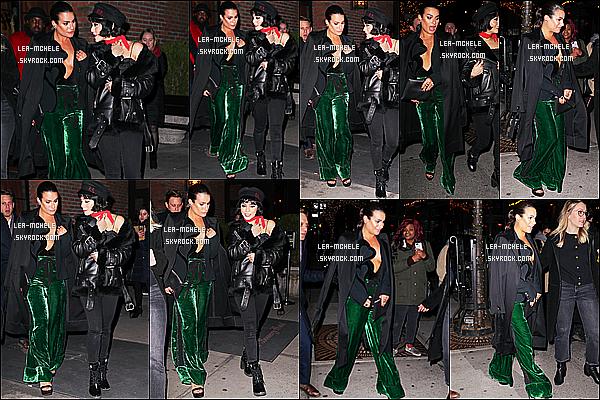 * 25/01/18 :    Lea M. s'est rendue à la soirée «  Delta Airlines Celebrates Grammy » à l'hôtel Bowery dans New York. Plus tôt, Lea a été vue arrivant à l'événement avec Vanessa Hudgens. Lea est resplendissante. J'aime beaucoup sa tenue, ce style lui va bien. Donc Top  *