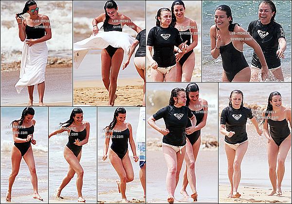 * 18/03/18 :    Lea Michele a été aperçue alors qu'elle prenait du bon temps sur une plage avec sa mère Edith, à Hawaii. Lea est donc en vacances avec sa mère, d'où le manque de news en ce moment. Ca fait plaisir de la voir comme ça, elle à l'air de bien s'amuser. Un Top.  *