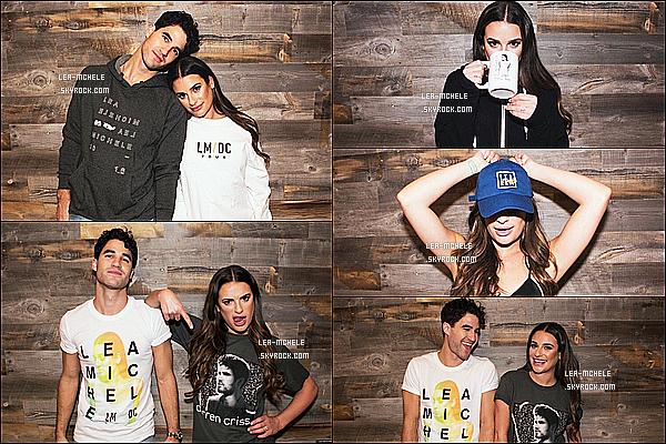 *  Voici les photos promos pour la tournée de Lea Michele et Darren Criss « LM / DC » !   *