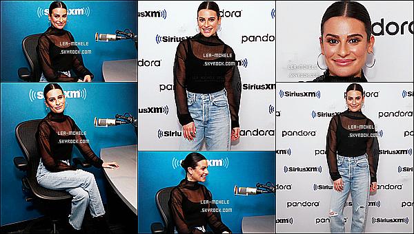 * '•-13/12/19-' : Lea M. était présente dans les studios de l'émission de radio « SirusXM » qui se trouve dans New York City. Plus tard, Lea a été aperçue quand elle se promenait dans les rues de New York. Lea était ravissante. J'aime bien sa tenue. C'est un Top ! *