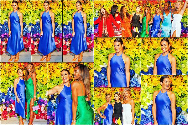 * '•-24/06/21 ─-' Lea était présente à l'événement « Alice + Olivia's Pride Prom » - au Parrish Art Museum dans New York. Ca faisait si longtemps qu'on avait pas eu un événement de Lea, ça fait plaisir. Elle était sublime. Je suis fan de la robe qu'elle porte. Top. *