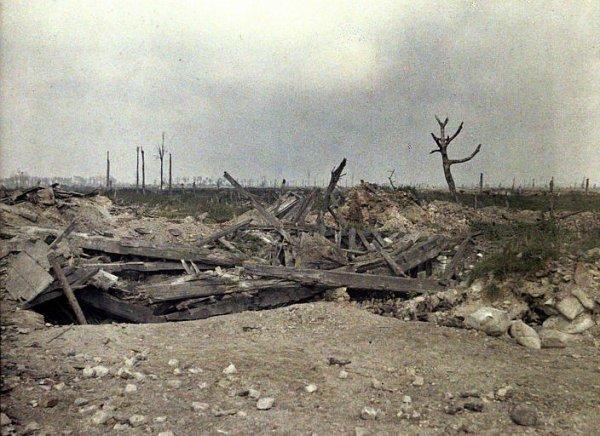 Secteur des Grenadiers Lizerne septembre 1917