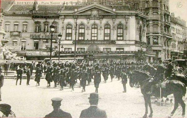Parade de Grenadiers (avant 1914)