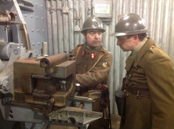 Pièce d artillerie du fort