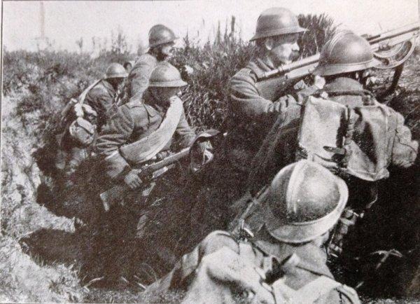 Secteur de Merckem 1918 - Assaut en préparation