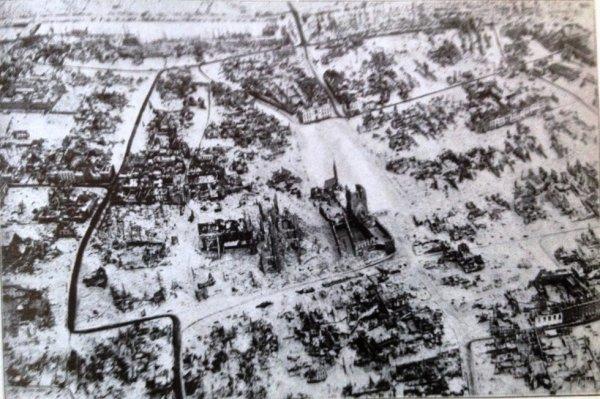 Ypres/Ieper sous la neige - Belgique