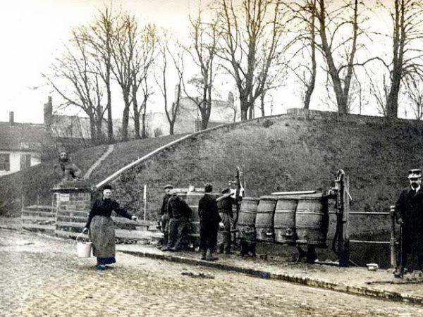 Ypres, l ancienne porte de Menin.