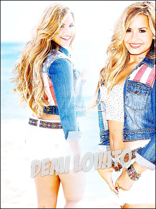.   ••• Suis l'incroyable actualité de la magnifique Demetria Devonne Lovato !  .