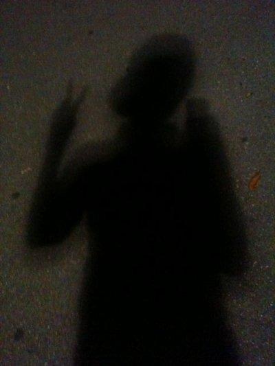 ombre de justin quil a pris au Japon et qu'il a posté sur son twitter
