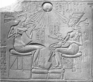 L'affaire d'Aménophis IV-1 : La religion solaire