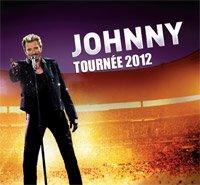 TOURNÉE JOHNNY 2012
