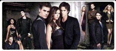 Acteurs  de Vampire Diaries et un bout de leur histoire :