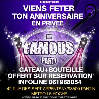 Soirée My Famous Party