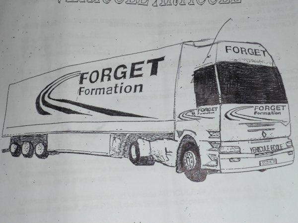 Semi remorque FORGET FORMATION