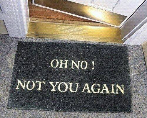 Do not enter...