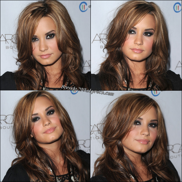 Demi était au « The Autumn Party » présenté par la boutique « ARCADE » au London Hotel le 29/09/10