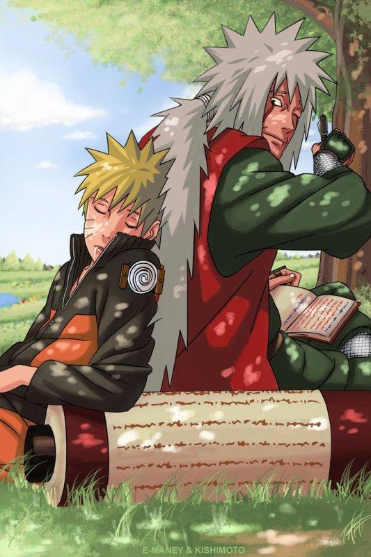 Si c'est ça être sage, alors je ferais mieux d'être un idiot pour le restant de mes jours. → Naruto à Jiraya