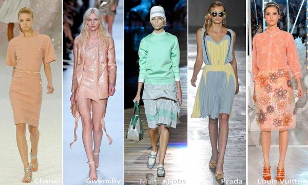 Eté 2012, Vive la mode régressive : Guimauve, Pastel, Cupcakes et companie !