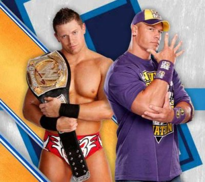 The miz VS John cena