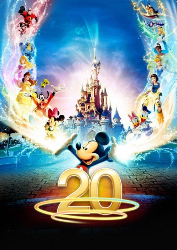 20 ans Disneyland Paris-Disney Magic On Parade-Magic Everywhere (2012)