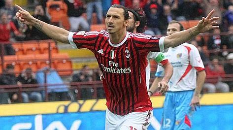 Catane 0 - 4 Milan Ac