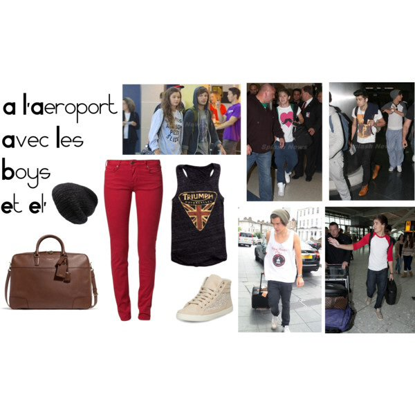 Article spécial n°8 : À l'aéroport avec les boys et Eleanor