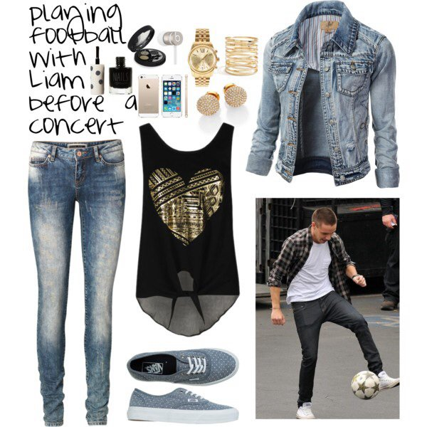 Article spécial n°27 : Playing football with Liam before the concert