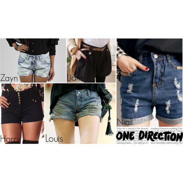 Article spécial n°39 : One Direction, Shorts