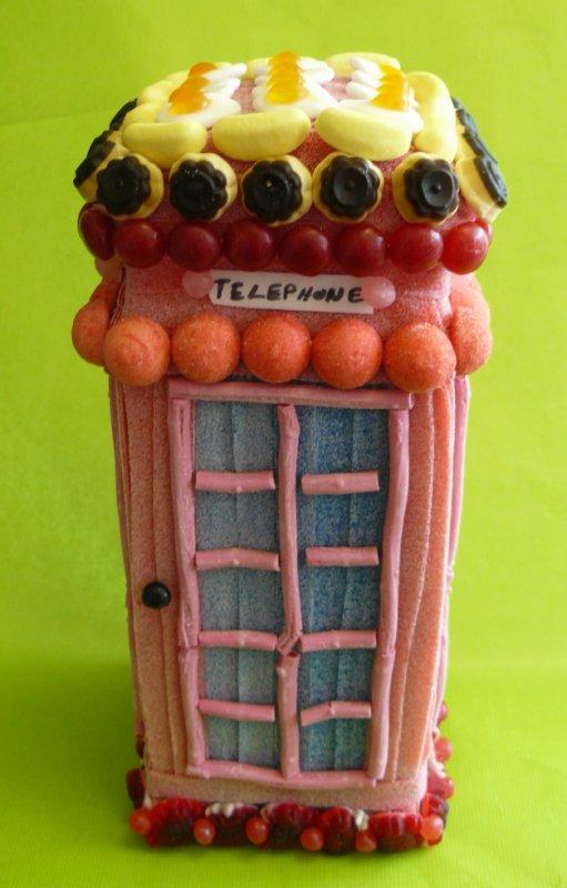 cabine téléphonnique londre