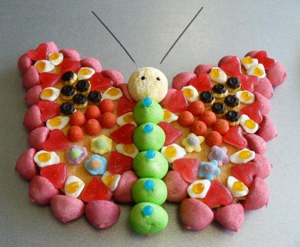 papillon en bonbon