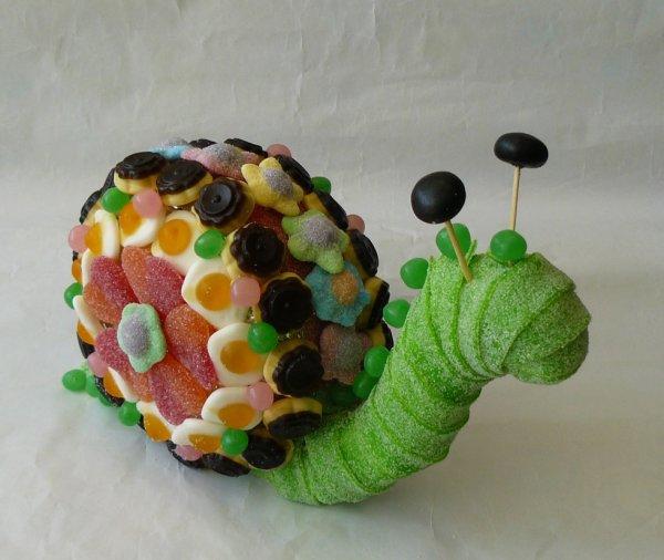 escargot en bonbon