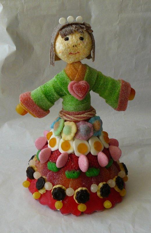 princesse en bonbon
