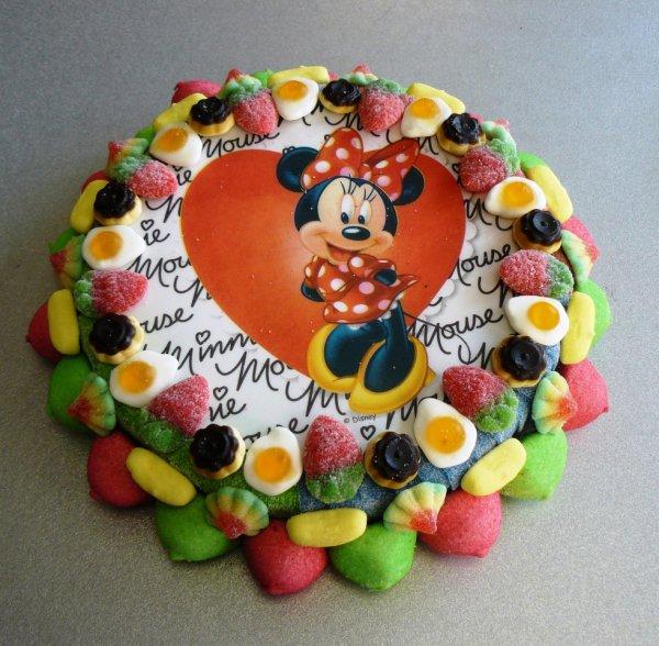 gâteau bonbon Minnie