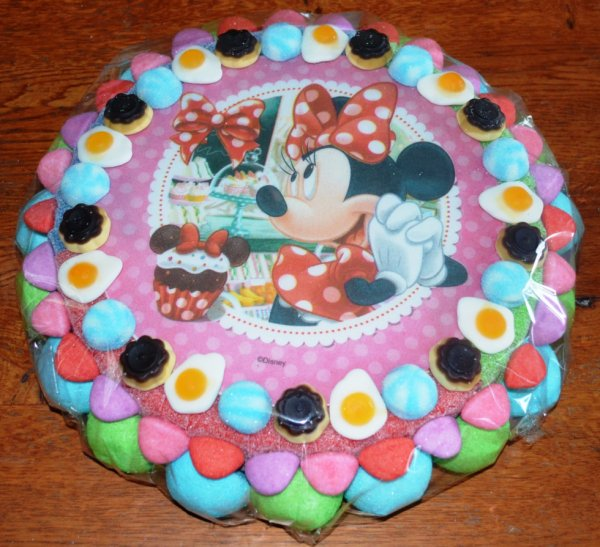 gateau bonbon Minnie