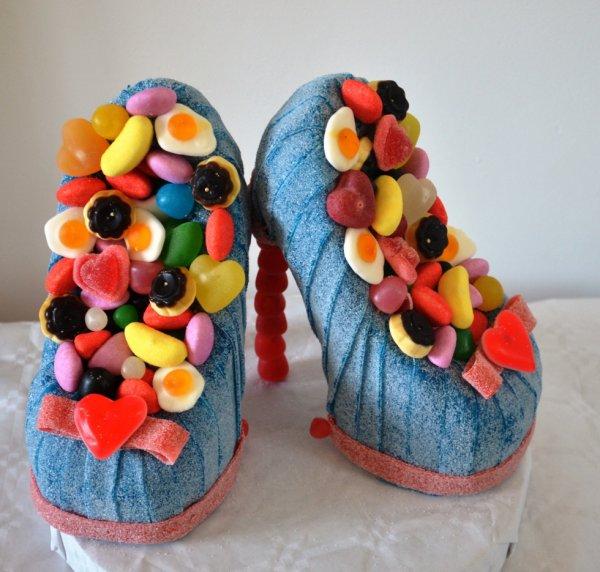 chausssure en bonbon